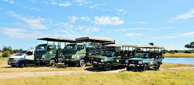 thebe river safaris, Accommodation, camping, overlands, meals, game drives, cruises and mobile safaris in the Chobe River and Chobe National Park area